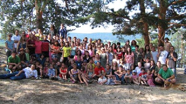 Camp group photo