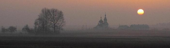 overlooking Rzhishchiv